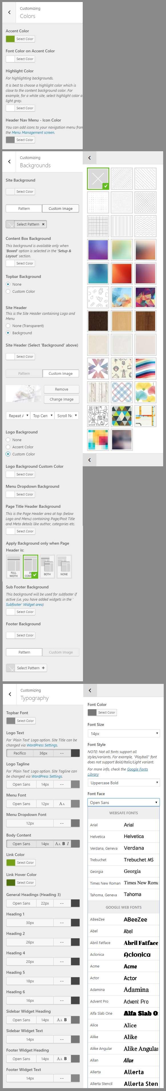admin styles typography - admin-styles-typography